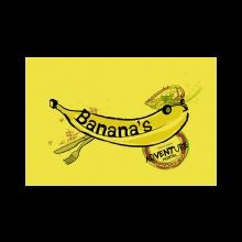 logo bananas hostel